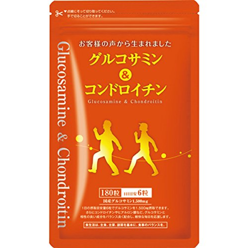 Glucosamine and Chondroitin〈in a bag〉