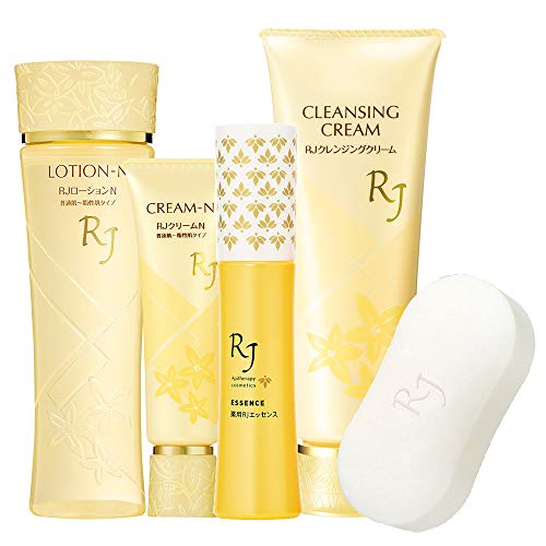 RJ Skin Care N Type 5 piece set (W) (For normal to oily skin)