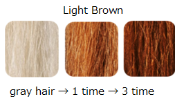 Hair Color Treatment <Light Brown>