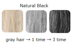 Hair Color Treatment <Natural Black>